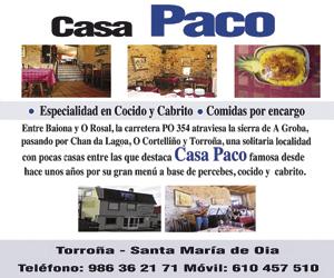 Casa Paco A Nova Peneira
