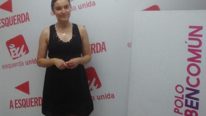 Eva Solla coordinadora nacional de Esquerda Unida. A Nova Peneira