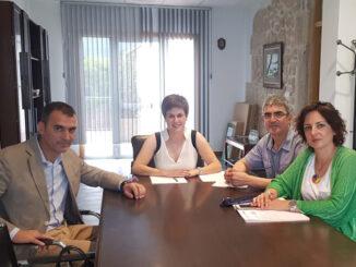 Reunión alcaldes e alcaldesas Baixo Miño. A Nova Peneira Concello O Rosal