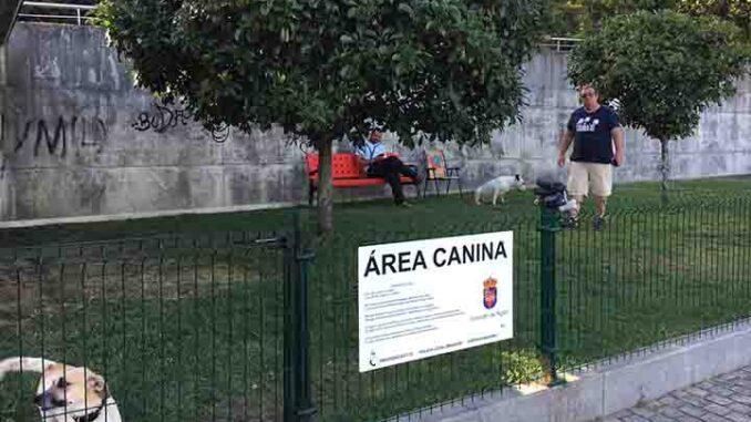 área canina concello de nigran a nova peneira