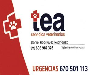 Servicio veterinarios tea A Nova Peneira