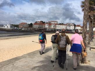 Camiño portugués pola costa A Nova Peneira