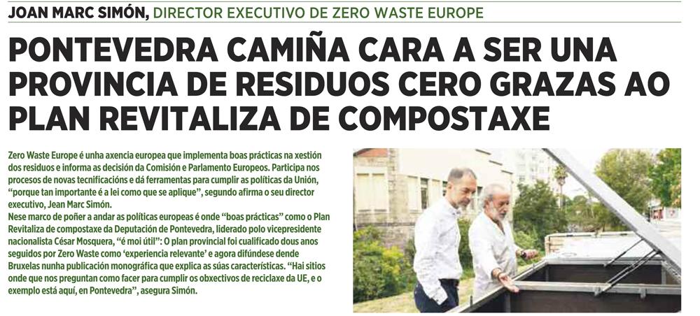 Anuncio Deputación de Pontevedra A Nova Peneira