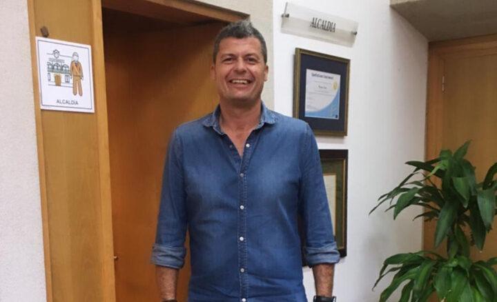 Carlos Gómez Alcalde de Baiona A Nova Peneira