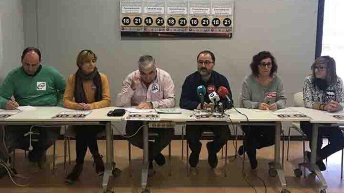 Rolda de Prensa conxunta CIG A Nova Peneira