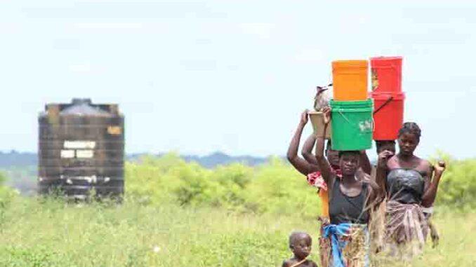 Depósito auga Lusofonía A Nova Peneira