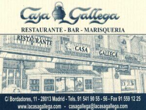 Casa gallega Restaurante Bar Marisqueria
