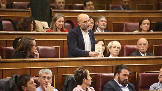 Néstor Rego acatar a constitución A Nova Peneira