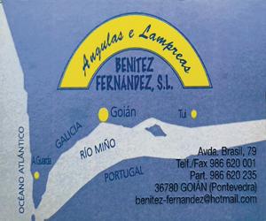 Angulas e lampreas Benitez Fernández SL A Nova Peneira