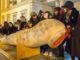 Enterro da lamprea Salvaterra do Miño A Nova Peneira