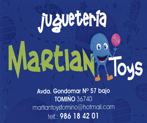 juguetería Martian Tomiño A Nova Peneira
