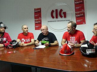 Bombeiros Concello de Vigo A Nova Peira