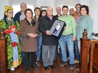 Homenaxe agustín gutiérrez A Nova Peneira Concello de Bueu