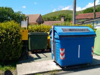 Colectores de lixo Concello Tomiño A Nova Peneira