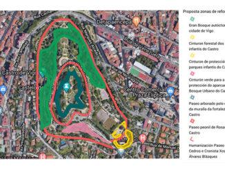 Parque do Castro Concello de Vigo Ecoloxistas en acción A Nova Peneira