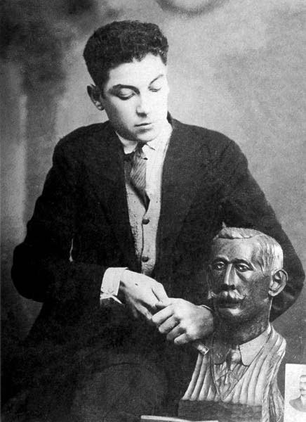 Camilo Nogueira Busto de Ricardo Mella A Nova Peneira