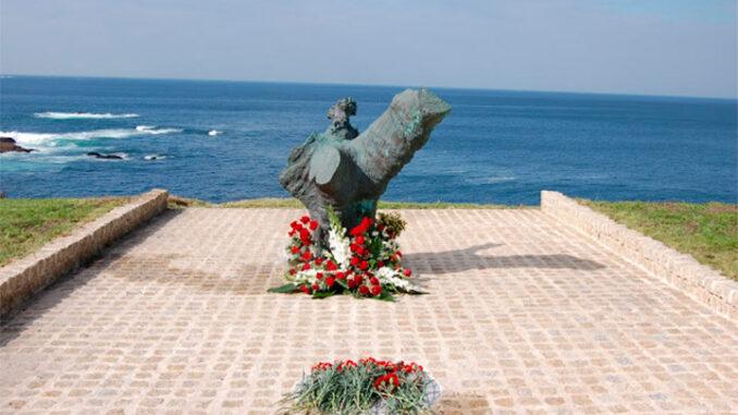 Memorial de Fernando Casás na Volta dos Nove (Arquivo IEM)
