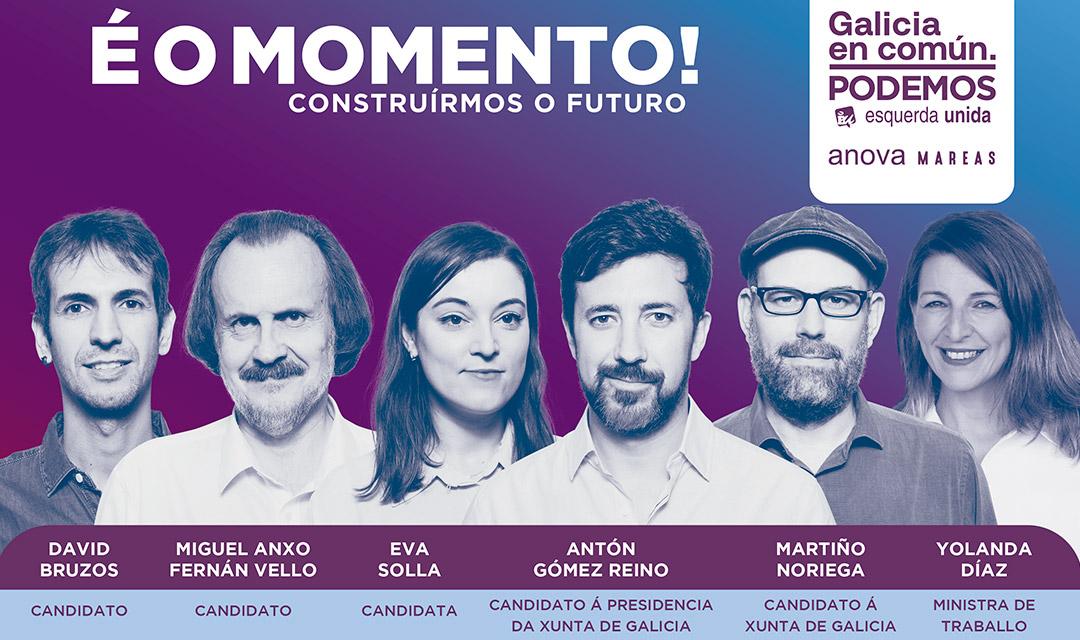 É o momento! construírmos o futuro Galicia en común Podemos