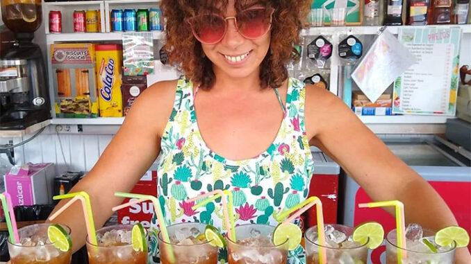 Elena Rodríguez Deilán Praia Ponte Caldelas Praia A Nova Peneira