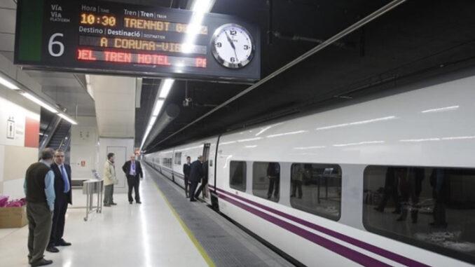 O tren baixo a pinga chinesa