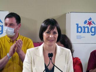 Noite electoral Ana Pontón BNG A Nova Peneira