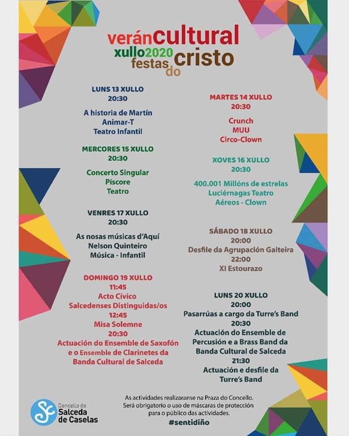 Festas Salceda de Caselas 2020 A Nova Peneira