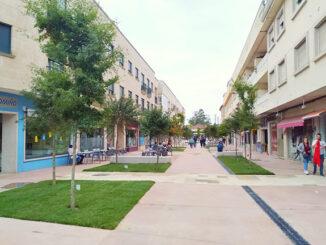 área de preferencia peonil do concello de Tomiño