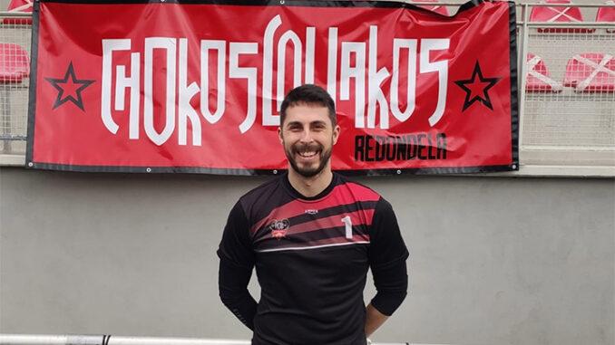 David Cortegoso porteiro do Choco e da Selección Galega Amateur