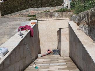 A Concellería de Patrimonio Restaura a Fonte da María Rosa En Pontellas
