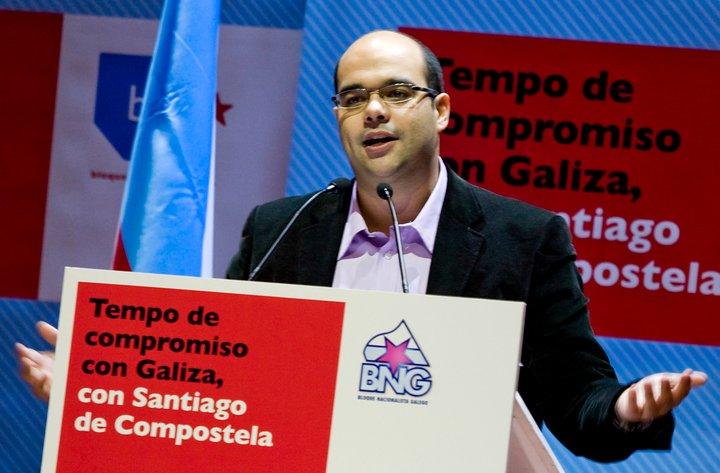 Rubén Cela membro da executiva nacional do BNG