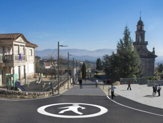 Obras parroquía Guláns Concello de Ponteareas A Nova Peneira