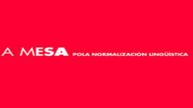 A Mesa de normalización A Nova Peneira