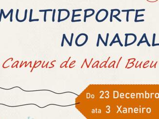 Multideporte no nadal Concello de Bueu A Nova Peneira