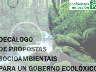 Decálogo ecologistas en acción A Nova Peneira