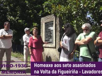 Seis patricios e un obreiro na Volta da Figueiriña, Lavadores