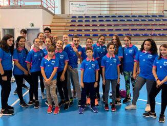Gonzalo Méndez supervisor da Escola Municipal de Atletismo Gustavo Dacal de Ponte Caldelas