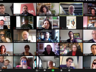 A Mesa participa no comité directivo virtual de ELEN sobre o efecto da Covid19 nas linguas minorizadas
