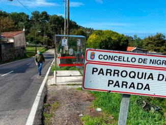 Concello de Nigrán e Deputación construirán unha senda peonil entre San Roque de Camos e Chandebrito e outra entre a areíña e a igrexa de Santiago de Parada