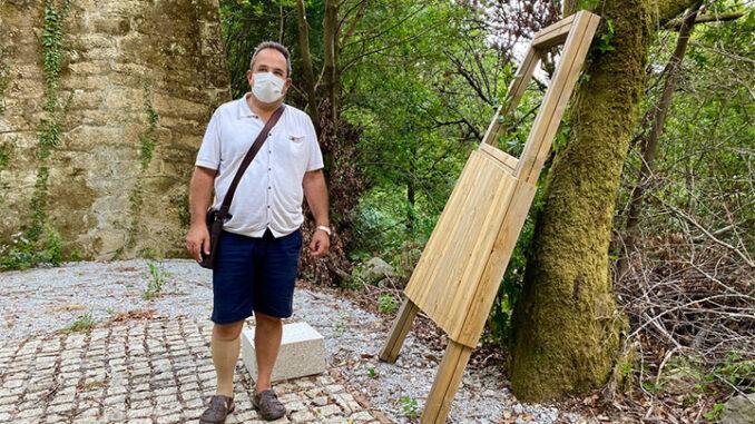 rnesto Filgueira reclama seguridade na ruta da Freixa, Dorna, antes de abrila ao público