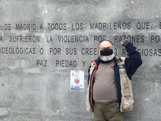Antolín Pulido escritor e brigadista internacional