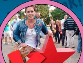 Lucía Santos Voceira do BNG de Marín