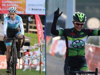 Miguel Rodríguez e Isabel Castro traen a Ponteareas a medalla de ouro do Campionato de España de Ciclocrós