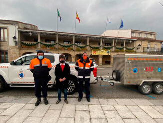 Novo remolque de emerxencias para Protección Civil do Rosal