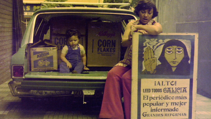Pequena historia familiar dun cartel de Castelao
