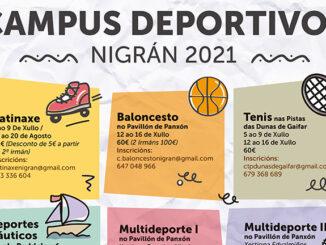 Campus deportivos Nigrán