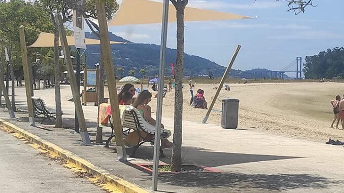 A Concellaría de Medio Ambiente conclúe unha vintena de melloras na contorna das praias