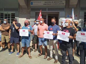 A CIG mobilízase contra a represión sindical en Barreras e exixe a readmisión de Rafa Pérez