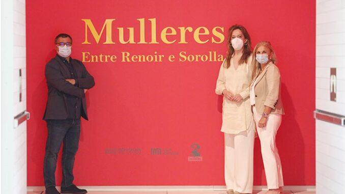 Mulleres Exposición Pontevedra
