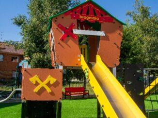 A veciñanza pode gozar xa dos novos parques das Bornetas e A Gándara en Guillarei