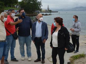 BNG urxe recuperar e rehabilitar a praia da Punta no barrio de Teis en Vigo